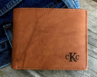 Mens leather wallet • mens personalized leather wallet • custom leather wallet • leather wallet • monogram wallet • wallet • A.Saddle 7751 >