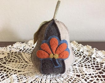 Wool Applique Pincushion