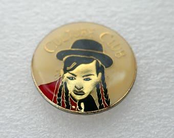 Culture Club - Enamel Pin Back Button Badge