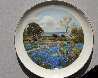 Bluebonnet Plate