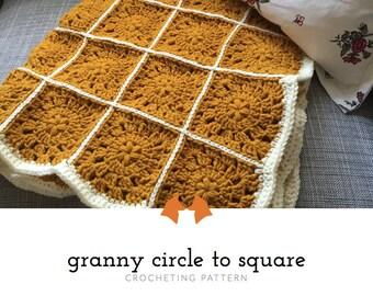 Crochet Granny Square Patterns, Crochet Baby Blanket Pattern, Crochet Granny Square Blanket Pattern, Granny Square Pattern, Tutorial