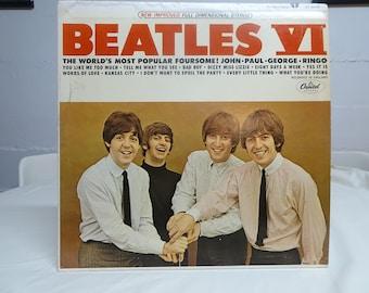 The Beatles, VI 1965 Capitol St 2358 Vinyl LP - Free Shipping