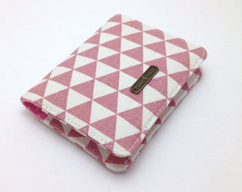 Business Card Holder. Pink Wallet. Credit Card Wallet. Fabric Credit Card Holder. Card Holder. Credit Card Holder. Fabric Wallet.