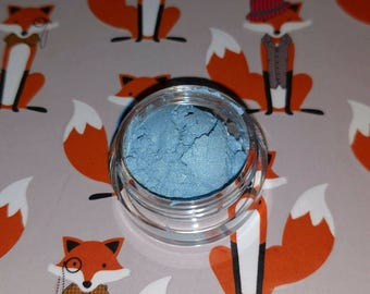 Rainbow Dash Inspired - sky blue with holo micro glitter mineral eyeshadow 5 gram VEGAN