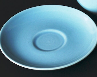 Ice Blue Saucer Russel Wright - Iroquois Casual China - Vintage