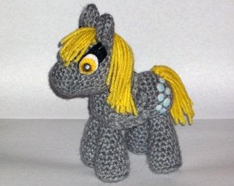 Derpy Crochet Plush
