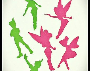 Mixed Peter Pan & Tinkerbell Fairy Party Scatters 150pcs