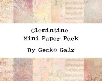 Clemintine Mini Paper Pack