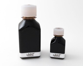 Tom Norton walnut ink (for calligraphy and drawing with dip pen or brush), 290 mL
