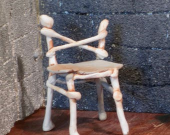 Miniature bone chair