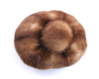 1960s Brown Vintage Fur Hat Vintage Fur Hat Vintage Fancy Dress Vintage Attire Vintage Fashion Brown Fur Hat Real Fur Hat Selfridge Hat