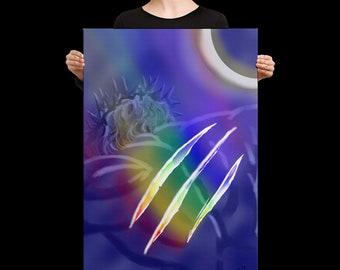 Healing-Canvas Print