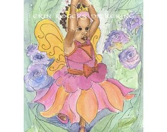 3 Princess Art Prints 11x14