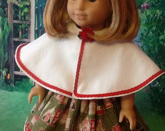 """Doll Cape for 18"""" dolls/AG"""