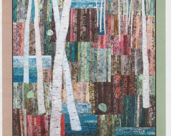 Into the Woods, DIY Art Quilt Pattern by Seams & Dreams