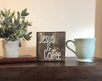 Jesus & Coffee block