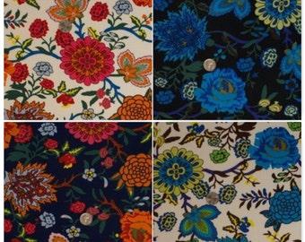 "Rose Garden Poly Spandex FDYJersey Knit Fabric""FDYX2J-3670"""