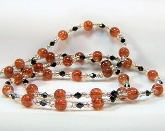 Beaded Eyeglass Chain, Eyeglass Necklace, Office Lanyard