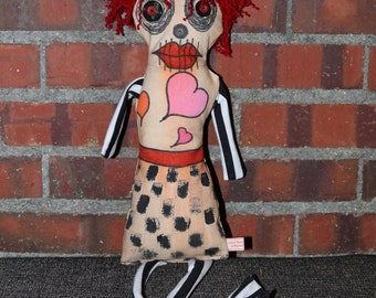 Art Doll - Voodoo Doll - Sally