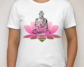 Buda T Shirt DTG Print All Sizes