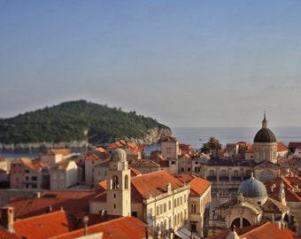Croatia Photography Dubrovnik Fine Art Print, Europe Travel Photography, Wall decor, Gallery wall, Croatian Art, City prints, Spani