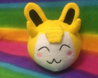 TF G1 Plush Plushie BunnyBot Bumblebee from Mythfits