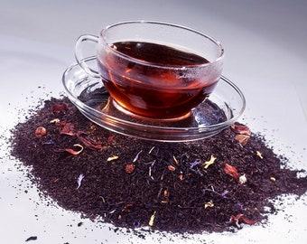 Tea Teabags 25 Blueberry and Blackberry Hand Blended herbal teabags