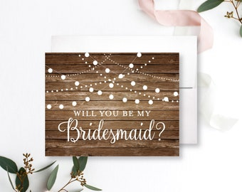 Bridesmaid Card Will you be my Bridesmaid Card Bridesmaid Proposal Card for Bridesmaid Wedding Card Bridesmaid Request Card #CL101