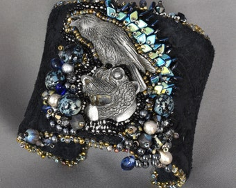 The Raven and the Bear cuff