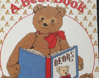 A Bear Book Cross Stitch Pattern Book by Gordon Fraser