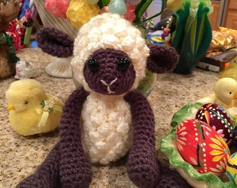 Amigurumi Lamb, Easter Lamb, Amigurumi Toys, Crochet Toys, Crochet Lamb, Plush Toy, Stuffed Animal, Crochet Sheep
