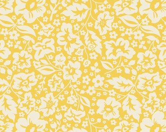 One Yard of Sweetest Floral Yellow from The Sweetest Thing by Zoe Pearn