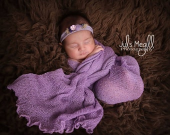 Iris RTS Stretchy Soft Newborn Knit Wraps 80 colors to choose from, photography prop newborn prop wrap