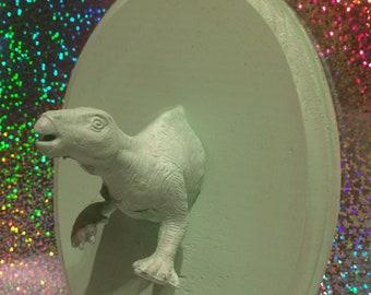 Faux Taxidermy - Mint Green Dino