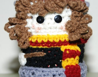 Hermione-inspired Cup Cozy