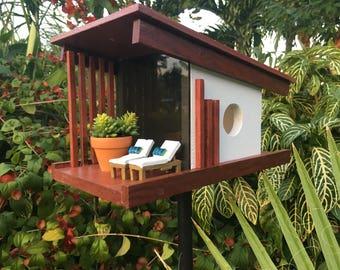 Distinctive homes for the discriminating bird.