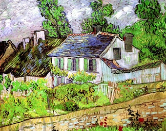 fabric panel - Vincent van Gogh (18). For sewing, patchwork, quilting.