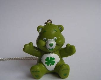 Pendant bear care bear green ♥ ♥
