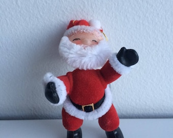 Vintage Christmas Santa Ornament Holiday Decor
