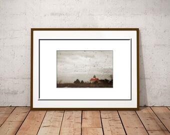 Lighthouse Print-Coastal Art-Fine Art Photography-Nautical Print-Lighthouse Photograph-Fine Art Wall Print-20x30 Print-New Jersey Wall Art