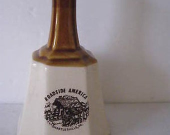 """Collectible Porcelain Bell Roadside America Shartlesville, Pa. 5 1/4"""" CL9-25"""