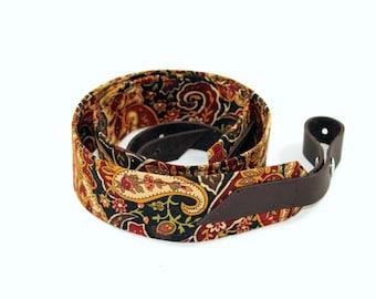 Gypsy Paisley Mandolin / Ukulele Strap