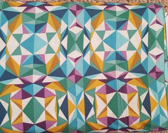 Sale!! Prismatic Emerald Fabric by Joel Dewberry Modernist Collection Fabric by the Yard