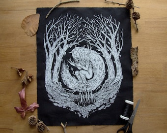 Wood Witch backpatch
