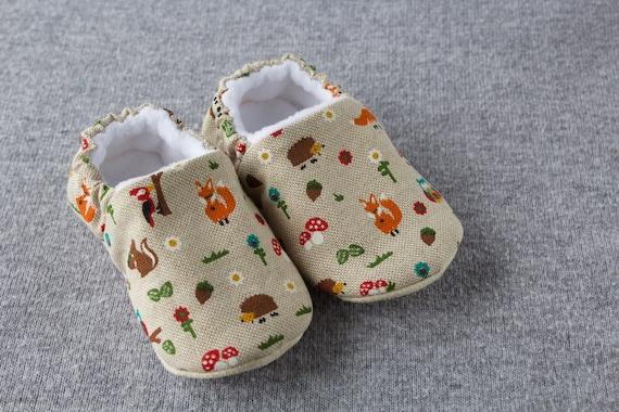 Forest friends, soft sole pre walker baby shoe
