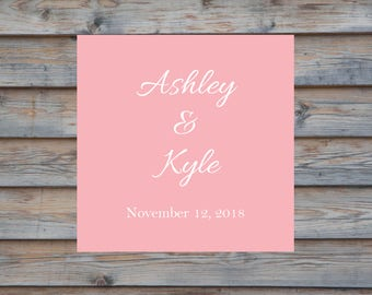 Personalized Wedding Favor Label- Personalized Wedding Sticker- Customized Wedding Favor Label - Wedding Envelope Seal - Thank You Label