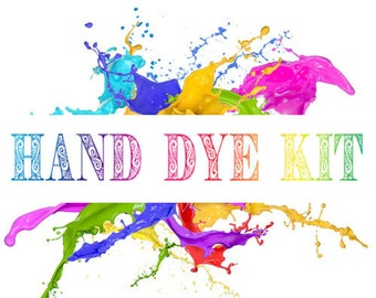 Hand Dye Kit - ROVING - 100g