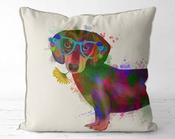 Weiner dog gifts sausage dog pillow Dachshund pillow nursery pillow doxie gift dog lover gift dog gift for dog owner kids decor dog pillow