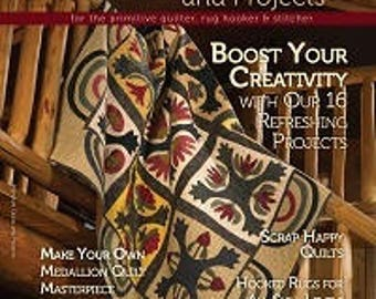 Primitive Quilts and Projects - 2014 Summer Issue