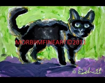 Black Cat by Esahn Dulin